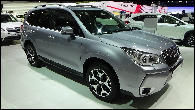 2016 Subaru Forester AWD 2 0D Lineartronic Exterior and Interior Geneva Motor Show 2015