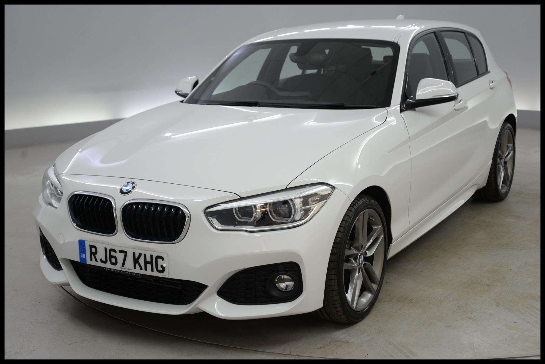 Used 2018 BMW 1 Series 116d M Sport 5dr [Nav] Step Auto MULTI FUNCTION STEERING WHEEL AUTO HEA for sale in Hampshire